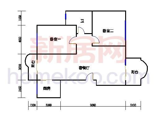 二期公寓F2单元