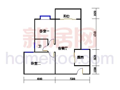 5号楼1-2L单位