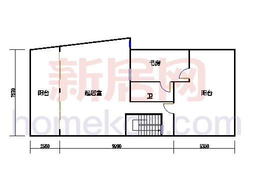 3号楼6、01单位跃式三层