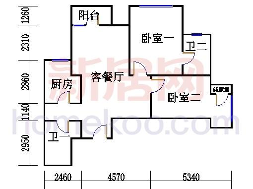 6#楼6-22层B反单位