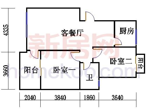 3-5层2B-b单元