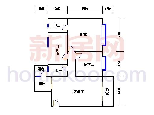 东瀚园三座1梯4-8层01单元