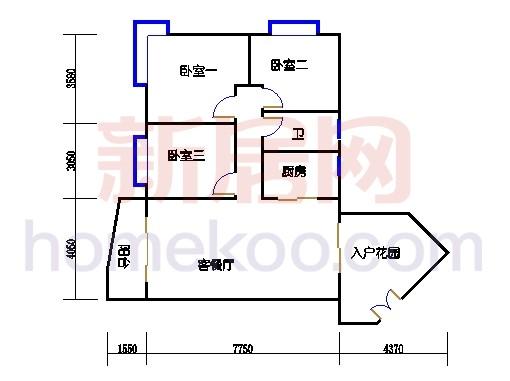 D2栋2-10层05单元