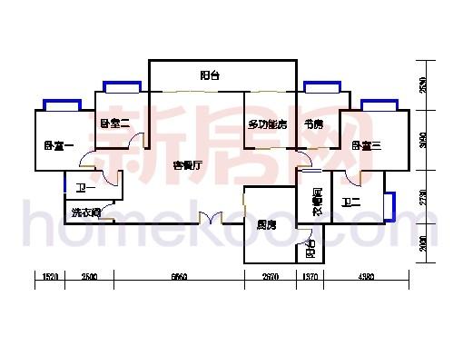 B2a3-18层06、07单位