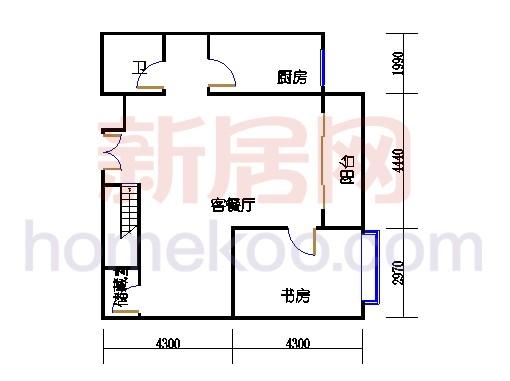 3号楼D2单元一层