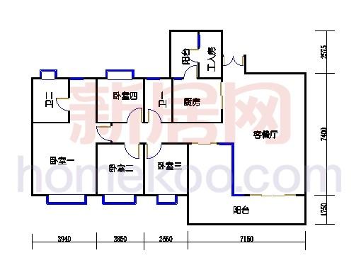 星怡居B栋4-16层02单元