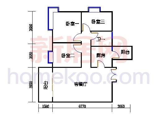 星怡居C栋4-16层(单数层)04单元
