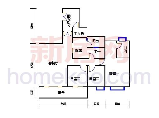 星怡居D栋4-16层01单元