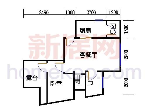 新奥依江畔园A7单元1、5号楼下层