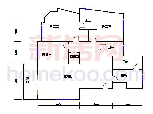 新奥依江畔园C1单元2、3、6号楼