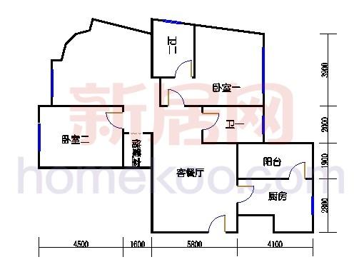新奥依江畔园C2a单元2、3、6号楼