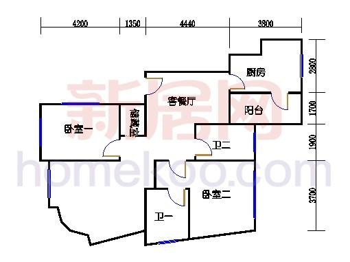 新奥依江畔园C3单元2、3、6号楼