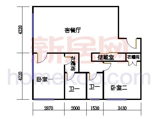 5层B-520单元