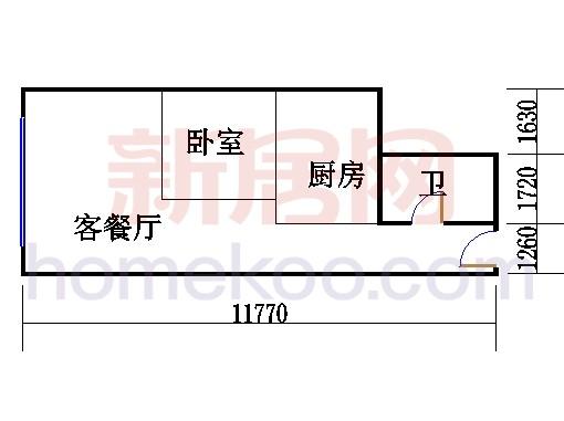 16层B-1616单元