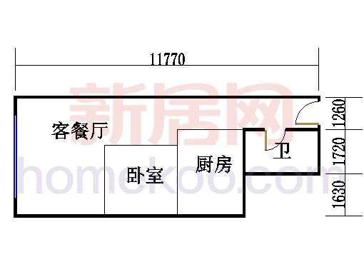 16层B-1617单元
