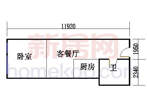 16层B-1619单元
