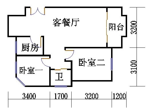 26号4楼G户型02室