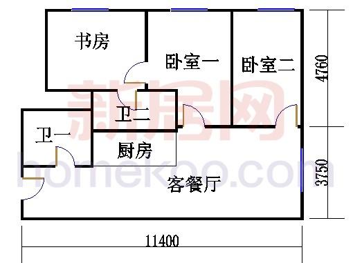 17-19层B-07单元