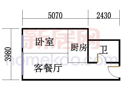 17-19层B-12单元