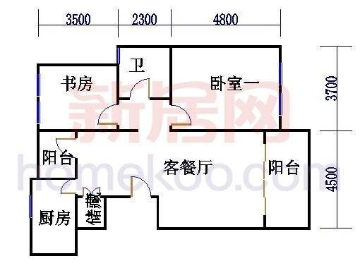 18号5楼L户型01室