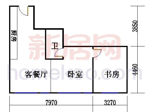 20层B-2003单元