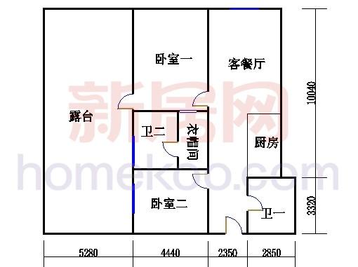 20层B-2006单元
