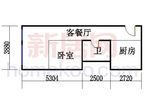 20层B-2011单元