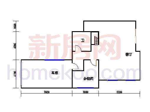 美加湖滨新地DJ-1-D单元下层