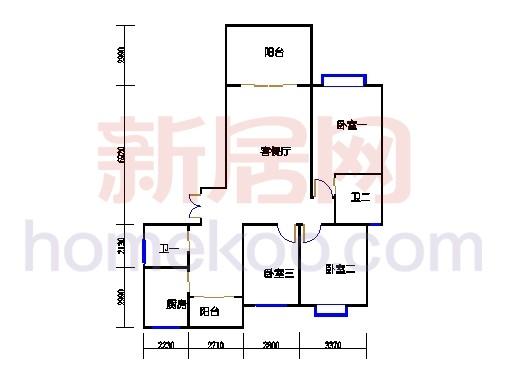 2-17层H6单位