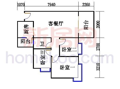 C3栋4层02单元
