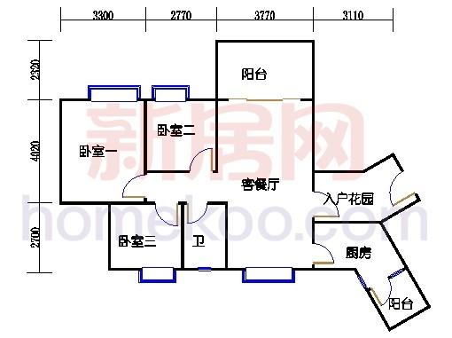 C3栋4层05单元