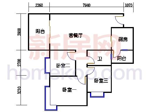 C3栋5-14层03单元