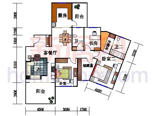 22、25号楼2-30层01室