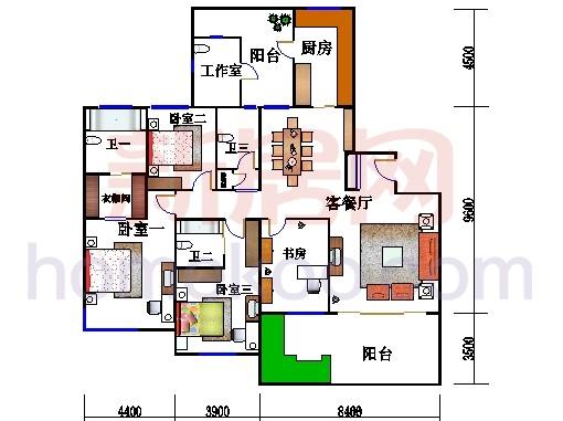 22、25号楼2-30层02室