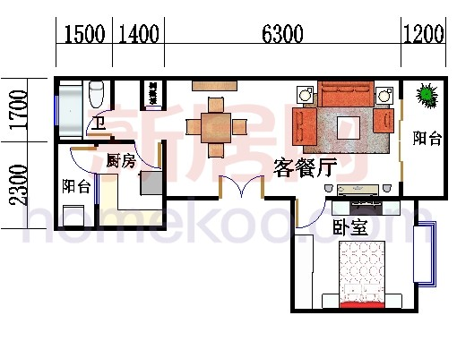 8号02室9号01室