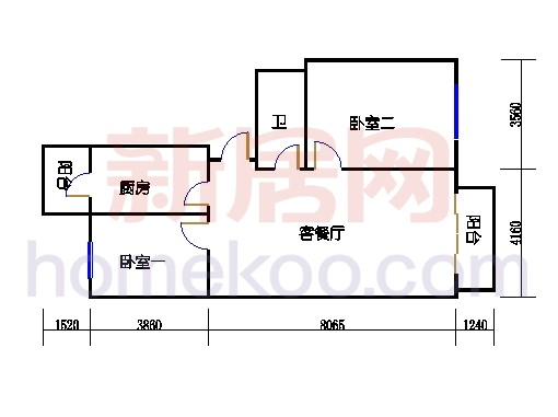 3号楼1、4单元、4号楼1单元