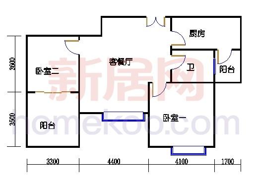 3号楼(奇数层)03单元