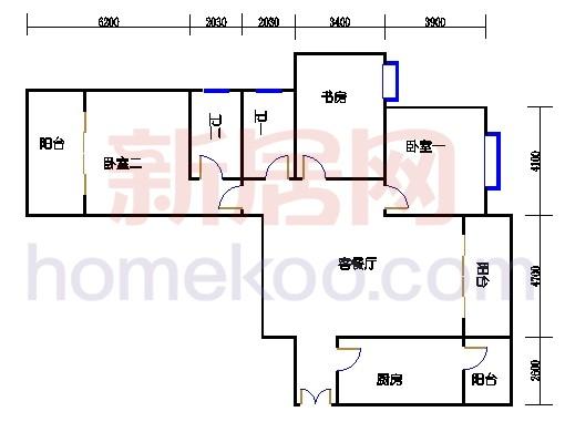 3号楼(奇数层)04单元
