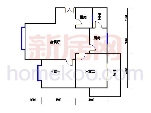 6号楼(奇数层)02单元