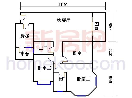 灏景园2、4座03单元、1、3座02单元