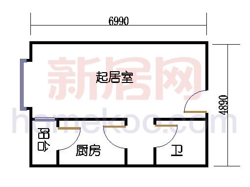 1、3、5、23、25、26号楼C单元(三期)