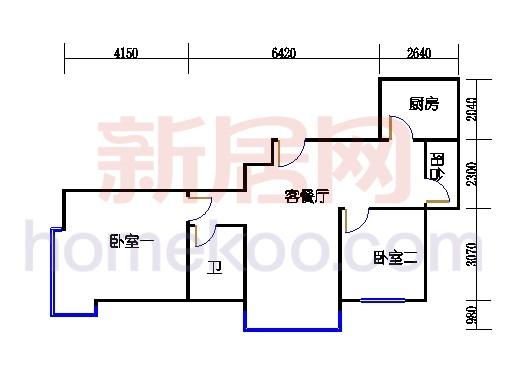 3、5、25、26号楼C单元(三期)