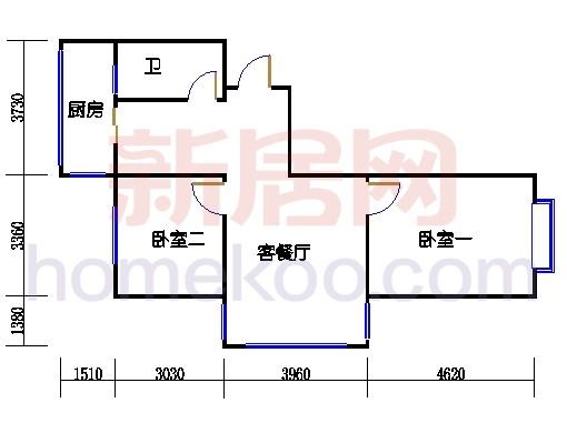 2、8号楼H单元(五期)