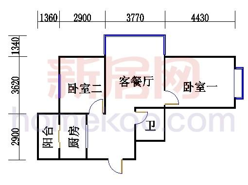 2、3、5、7-9号楼J单元(五期)