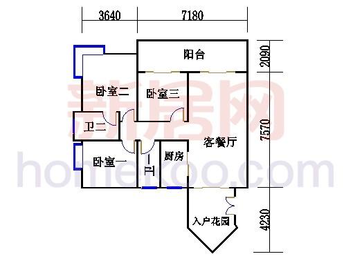 D1栋24-29层03单元
