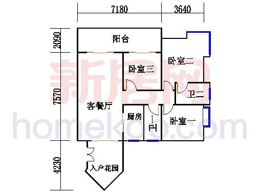 D1栋24-29层04单元