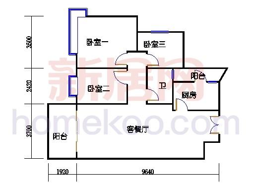 2D-30栋标准层02单元