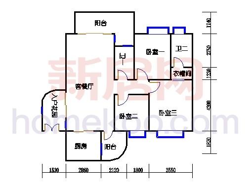 2D-30栋标准层04单元