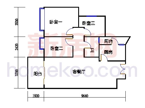 2D-31栋标准层02单元