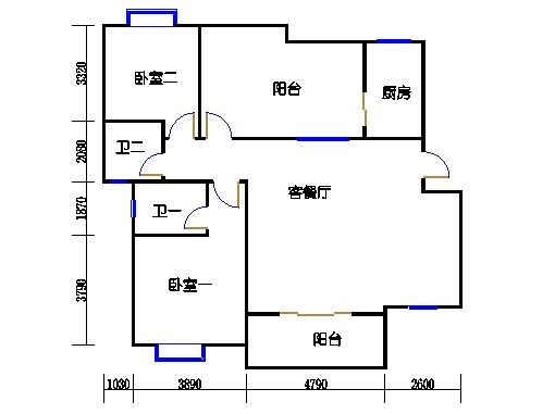 五层F单元